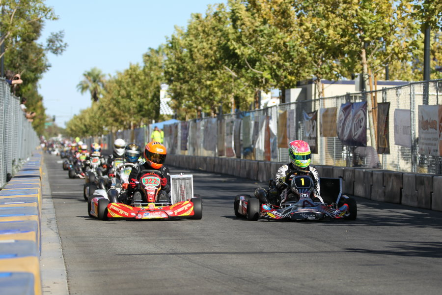 The city streets of Lancaster will be busy with action on September 27-28 when the California ProKart Challenge completes the 2014 season (Photo: dromophotos.com)
