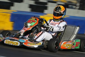 Sabré Cook followed up her Rocky Mountain championship with a runner-up at the California ProKart Challenge event in Lake Elsinore (Photo: dromophotos.com)