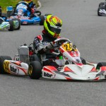 Sting Ray Robb won Round Seven to help him secure the vice-champion spot at the Rotax Can-Am ProKart Challenge (Photo: SeanBuur.com)