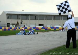 David Malukas secured the Prefinal win in Yamaha Junior (Photo: DavidLeePhoto.com)