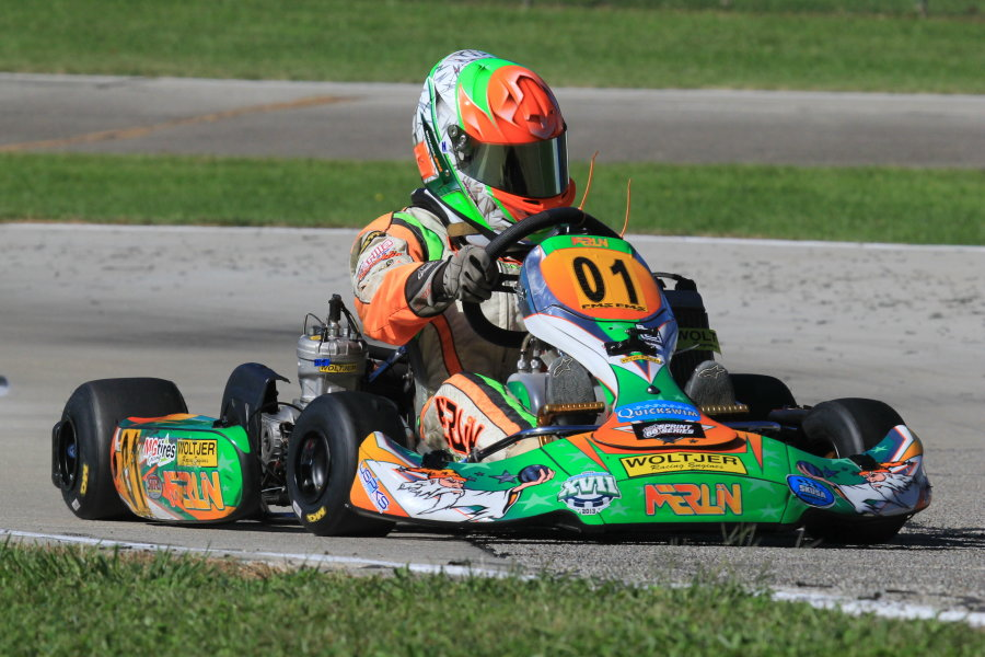 Brandon Lemke captured four wins in the Junior classes (Photo: Joe Brittin)
