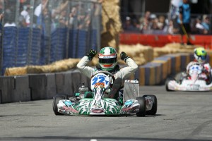 Royal McKee went from third to first on the final lap for the checkered flag in TaG Junior (Photo: dromophotos.com)