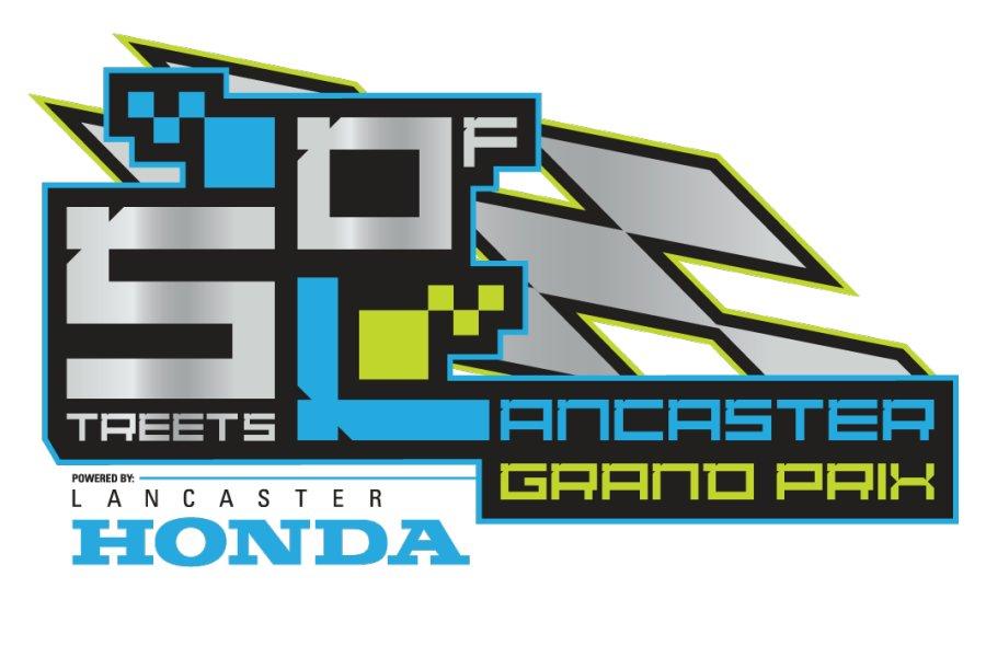 Streets of Lancaster Grand Prix logo 2014