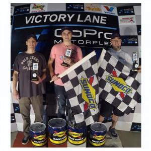 Round 3 Winners (left to right): Dan Kranefuss, Sebastian Miller and Mark Nahrstedt