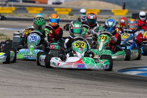 Anthony Gangi Jr. will be vying for the 2014 Pan Am title against a stout line-up of Rotax Junior drivers (Photo by: Ken Johnson/studio52.us)