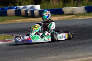 Anthony Gangi Jr. earned the Rotax Junior Super Pole during the 2014 Pan American Challenge after a smart strategy in qualifying (Photo by: Ken Johnson/studio52.us)