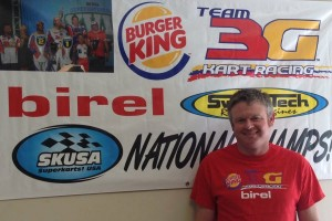 Tim Lobaugh joins the 3G Kart Racing operation full time in Katy, Texas (Photo: 3GKartRacing.com)