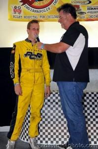United States Pro Kart Series champion AJ Myers (Photo: DavidLeePhoto.com)