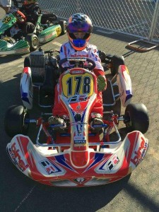 Coulton piloted his Birel machine to the runner-up position in the Mini Max division at the Cold Stone Rotax Pan American Challenge