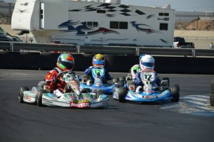 Myles Farhan took his fifth checkered flag of the season in TaG Cadet (Photo: LAKC.org)