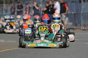 Enzo Fittipaldi retains the pole position in Mini Max (Photo: Studio52.us)