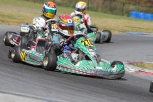 Junior rookie Nick Brueckner will lead the Junior Max field in the Prefinal (Photo: Studio52.us)