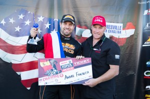 Andre Fonseca was awarded the Rotax Grand Finals ticket in DD2 Masters (Photo: Studio52.us)