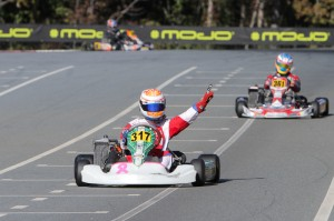 Ashley Rogero won her third straight on-track Pan Am victory, scoring the Senior Max ticket to the Rotax Grand Finals (Photo: Studio52.us)