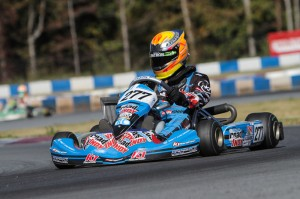 Austin Versteeg became the first driver in the world with a 2015 Rotax Grand Finals ticket, winning Junior Max (Photo: Studio52.us)