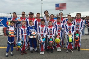 Drivers that made up Team USA at the 2014 Rok Cup International Final (Photo: Jagger Jones Racing)