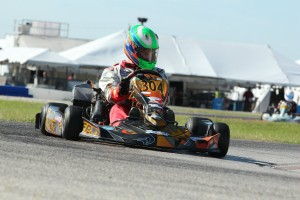 Jesse Woodyard locked up the Rotax Senior title with a win on Sunday (Photo: dreamscaptured.net)