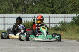 Trenton Estep was a double winner on the weekend, scoring a victory in Rotax Junior along with a win in S5 Junior (Photo: dreamscaptured.net)