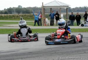 Kid Kart race winners Elliot Cox (51) and Nick Snell (Photo: DavidLeePhoto.com)