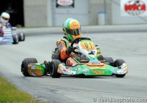 Brandon Lemke pocketed $500 as Parilla Junior IAME Cup winner (Photo: DavidLeePhoto.com)