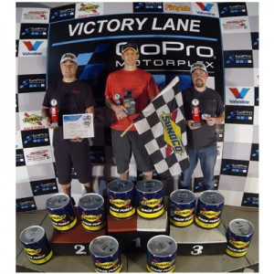 Fall Rental League Heavy Division Championship Podium: Champion: Dan Kranefuss, 2nd: Mark Nahrstedt, 3rd: Brandon Webb