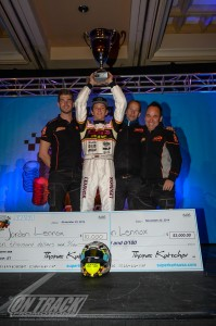 The S1 victory clinched the Pro Tour title for Lennox and the PSL Karting / CRG operation (Photo: On Track Promotions - otp.ca)