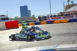 Logan Sargeant became the first American to win in TaG Junior (Photo: On Track Promotions - otp.ca)