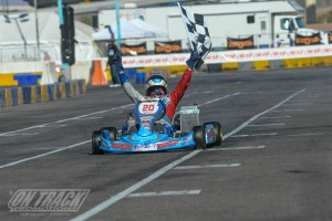 Italian Marco Maestranzi bounced back from adversity to power his way to the TaG Senior victory (Photo: On Track Promotions - otp.ca)