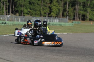 Coyote's Jim Lipari on his way to an Animal Win at Carolina Motorsports Park (Photo: Double Vision Photography)