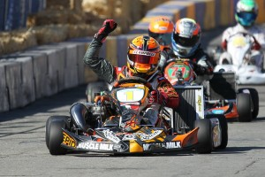Jarred Campbell drove to victory at the Streets of Lancaster Grand Prix (Photo: dromophotos.com)