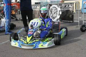 Braden Eves become the first driver to enter the CompKart into SuperNationals competition (Photo: EKN)