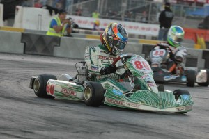 Two heat wins has Dalton Sargeant on the right path in TaG Senior (Photo: On Track Promotions - otp.ca)