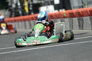 In the hot seat for the S2 championship is SummerNationals double winner Austin Garrison (Photo: On Track Promotions - otp.ca)
