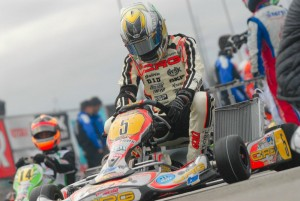 Five-time world karting champion Davide Fore will make his first SuperNats start (Photo: On Track Promotions - otp.ca)
