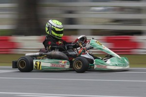 Fellow OGP driver Jonathan Kotyk is the lead challenger in the standings (Photo: Florida Karting Photos)