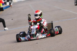 Senior Yurik Carvalho drove to a victory and title in TaG Junior last year with Italian Motors USA (Photo: On Track Promotions - otp.ca)