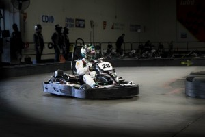 Trey Shannon reset the world record distance for piloting an indoor kart in a 24-hour period