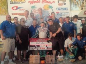 Nick Neri celebrates a Florida Winter Tour championship with Ocala Gran Prix (Photo: Nick Neri Racing)