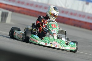 Askew was one spot away from placing on the S1 podium at the SKUSA SuperNationals XVIII (Photo: On Track Promotions - otp.ca)