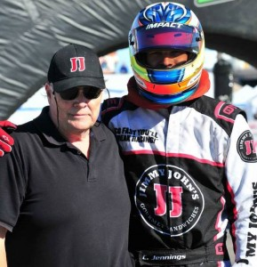 John and Chris Jennings enjoyed two podium finishes at this year's SuperNats