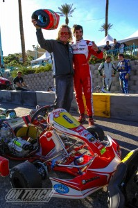 Paolo de Conto swept the KZ2 division at this year's SuperNationals (Photo: On Track Promotions - otp.ca)