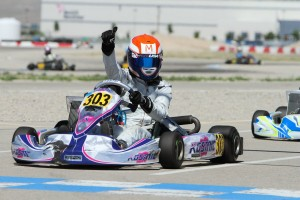 Over the past few years, Selliken has become a consistent front-runner in karting (Photo: Ken Johnson - Studio52.us)