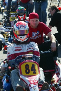 Boswell came through the ranks and drove with MRP Motorsport/Birel on the national scene (Photo: EKN)