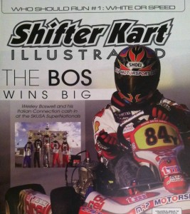 Boswell's biggest win came at the 2003 SKUSA SuperNationals