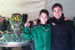 Brueckner and Fabio Orsolon enjoyed a successful first weekend of the 2015 Rotax Challenge of the Americas (Photo: eKartingNews.com)