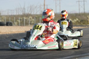 Senior rookie Christian Brooks was consistent throughout the Tucson weekend, and now leads the championship standings (Photo: EKN)