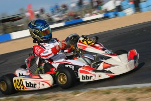 The 12-month turn around Kellen Ritter has made with BBR Karting is outstanding (Photo: SeanBuur.com)