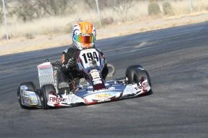 Sebastian Alvarez piloted the PSL Karting Mini X-2 chassis to its first 2015 victory in Mini Max (Photo: EKN)