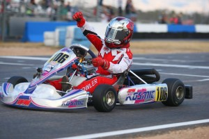 Griffin Dowler escaped with the victory in Mini Max (Photo: SeanBuur.com)