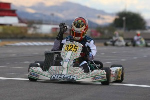 Brenden Baker recorded his first victory in Senior Max (Photo: SeanBuur.com)